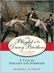 The Plight of the Darcy Brothers by Marsha Altman: Book Cover