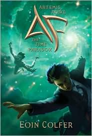 Artemis Fowl; The Time Paradox by Eoin Colfer: Book Cover