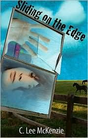 Sliding on the Edge by C. Lee McKenzie: Book Cover
