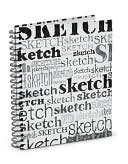 Sketches,Sketches Spiral Sketchbook (8.5.x 11) by Barnes & Noble: Product Image