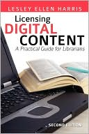 Licensing Digital Content book cover displayed through an affiliate contract from BN.com