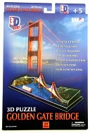 Golden Gate Bridge 3D Puzzle by Daron: Product Image