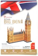 Big Ben 116 Piece 3D Puzzle by Daron: Product Image