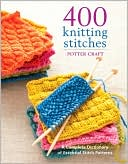 400 Knitting Stitches by Crown: Book Cover