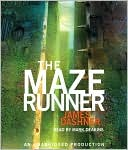 The Maze Runner (Maze Runner Series #1) by James Dashner: CD Audiobook Cover