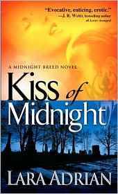 Kiss of Midnight (Midnight Breed Series #1) by Lara Adrian: Book Cover