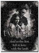 Twilight Edward and Bella 1000 piece puzzle by NECA: Product Image