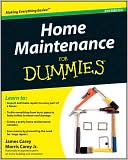 Home Maintenance For Dummies by James Carey: Book Cover