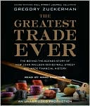 The Greatest Trade Ever by Marc Cashman: CD Audiobook Cover