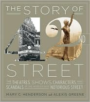 Story of 42nd Street by Alexis Greene: Book Cover