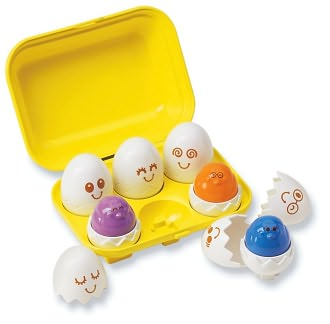 Hide & Squeak Eggs by Tomy: Product Image