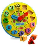 Shape Sorting Clock by Melissa & Doug: Product Image