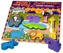 Safari Chunky Puzzle by Melissa & Doug: Product Image