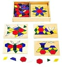 Pattern Blocks and Boards by Melissa & Doug: Product Image