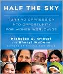 Half the Sky by Nicholas D. Kristof: CD Audiobook Cover