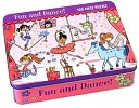 Fun &amp; Dance Puzzle in Tin by Galison Books: Product Image