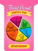 download TRIVIAL PURSUIT Scratch & Play Entertainment book