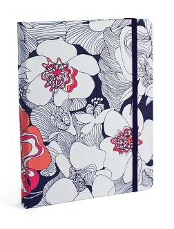 Nocturnal Bloom Fabric Covered Journal