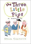 The Three Little Pigs by Steven Guarnaccia: Book Cover