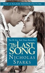 The Last Song by Nicholas Sparks: Book Cover