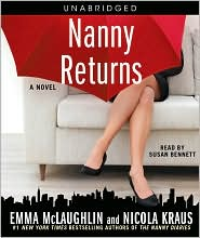 Nanny Returns by Emma McLaughlin: CD Audiobook Cover