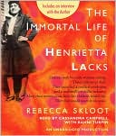 The Immortal Life of Henrietta Lacks by Rebecca Skloot: CD Audiobook Cover