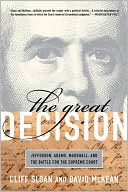 The Great Decision by Cliff Sloan: Book Cover