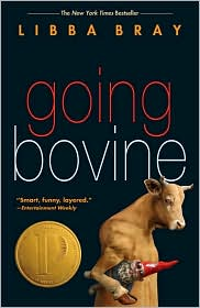 Going Bovine by Libba Bray: Book Cover