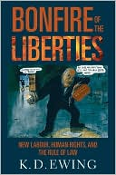 download The Bonfire of the Liberties : New Labour, Human Rights, and the Rule of Law book