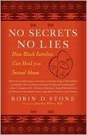 No Secrets No Lies by Robin Stone: Book Cover