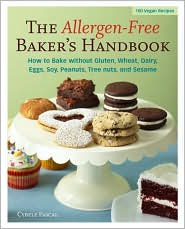 The Allergen-Free Baker's Handbook by Cybele Pascal: Book Cover