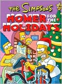 The Simpsons Homer for the Holidays by Matt Groening: Book Cover