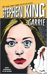Carrie by Stephen King: Book Cover