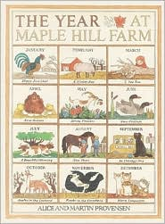 The Year At Maple Hill Farm by Alice Provensen: Book Cover