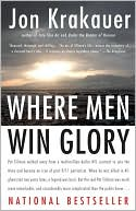 Where Men Win Glory by Jon Krakauer: Book Cover