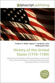 BARNES & NOBLE | History Of The United States (1776-1789) by ...