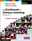 The Continuum of Literacy Learning, Grades PreK-8 by Irene Fountas: Book Cover