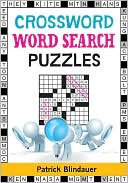 Crossword Word Search Puzzles by Patrick Blindauer: Book Cover