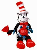 Dr. Seuss Cat in the Hat Activity Cat by Manhattan Toy: Product Image
