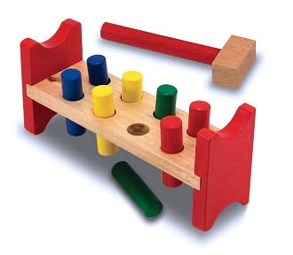 Pound-a-Peg by Melissa & Doug: Product Image