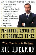 Financial Security in Troubled Times by Ric Edelman: NOOK Book Cover