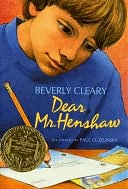 Dear Mr. Henshaw by Beverly Cleary: NOOK Book Cover