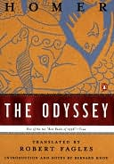 The Odyssey by Homer: NOOK Book Cover