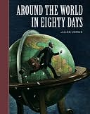 Around the World in Eighty Days (Sterling Unabridged Classics Series) by Jules Verne: NOOK Book Cover