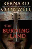 The Burning Land (Saxon Tales #5) by Bernard Cornwell: NOOK Book Cover