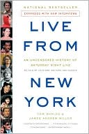 Live from New York by Tom Shales: NOOK Book Cover
