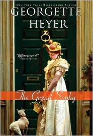 The Grand Sophy by Georgette Heyer: NOOK Book Cover