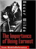 The Importance of Being Earnest by Oscar Wilde: NOOK Book Cover