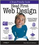 Head First Web Design by Ethan Watrall: Book Cover