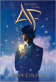 Artemis Fowl by Eoin Colfer: Book Cover